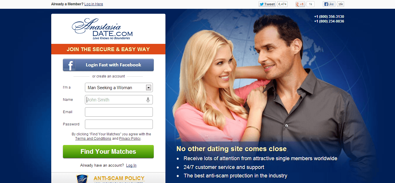 Reviews of online dating sites