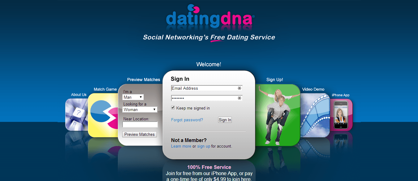 Dating site ratings