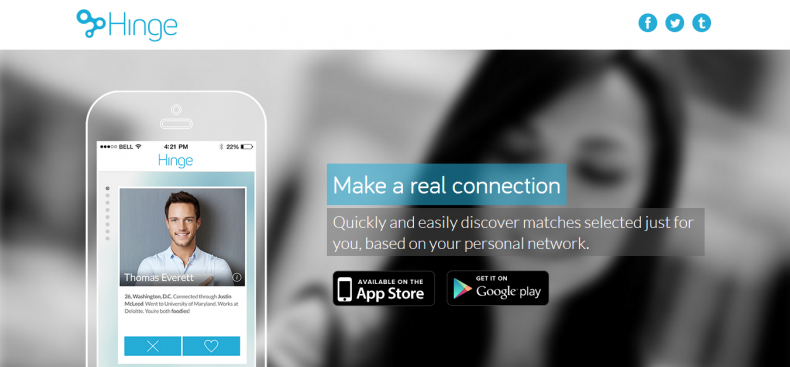 Hinge dating service