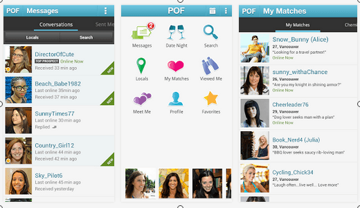 Pof android app review is the plenty of fish app worth for Plenty of fish sign in mobile