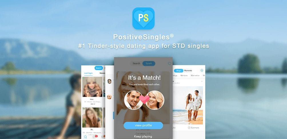 PositiveSingles Review - Screenshot