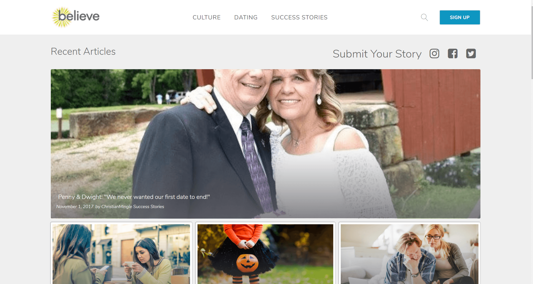 Believe by Christian Mingle - Review