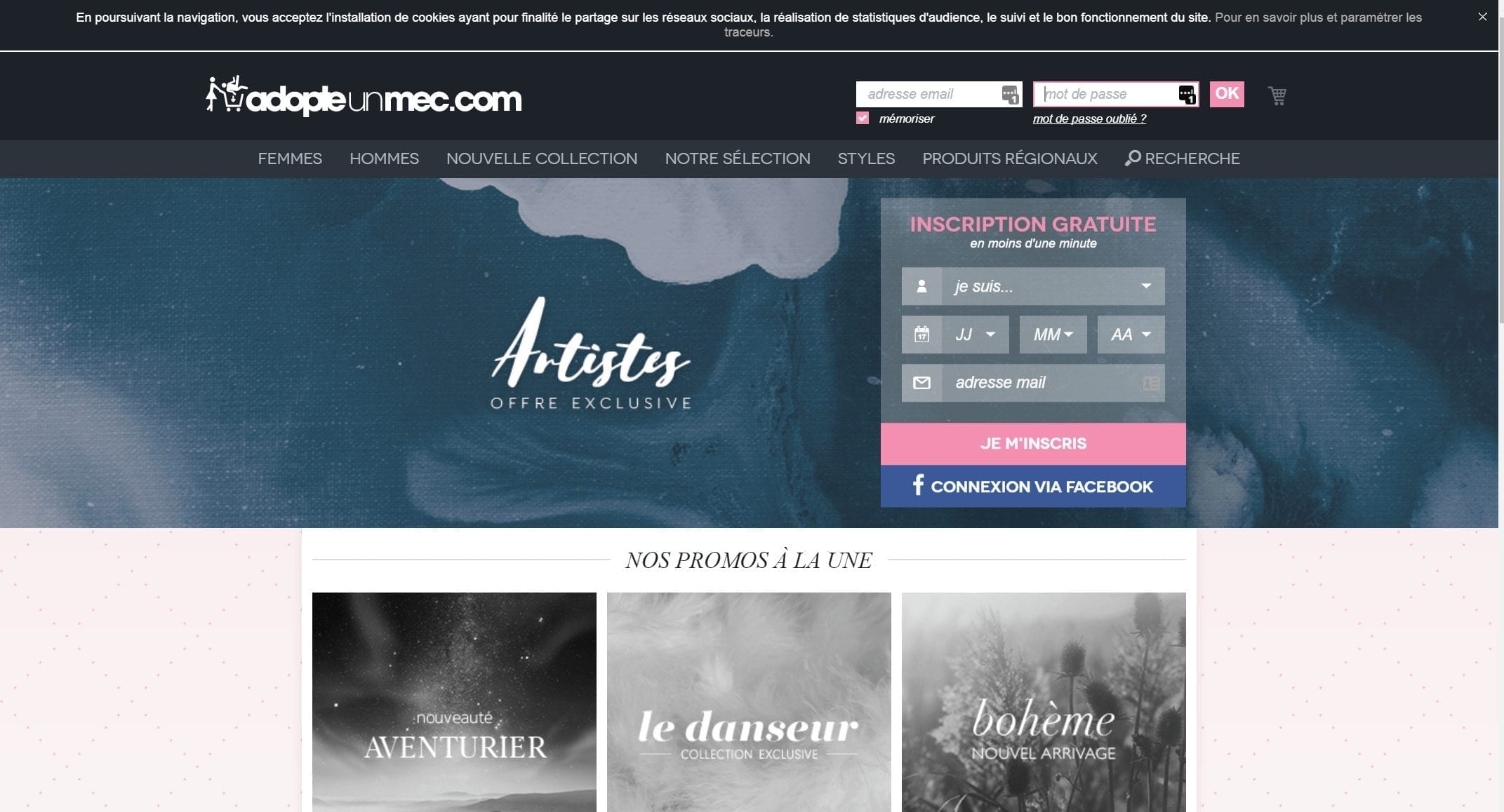 AdoptUnMec - French Dating Sites