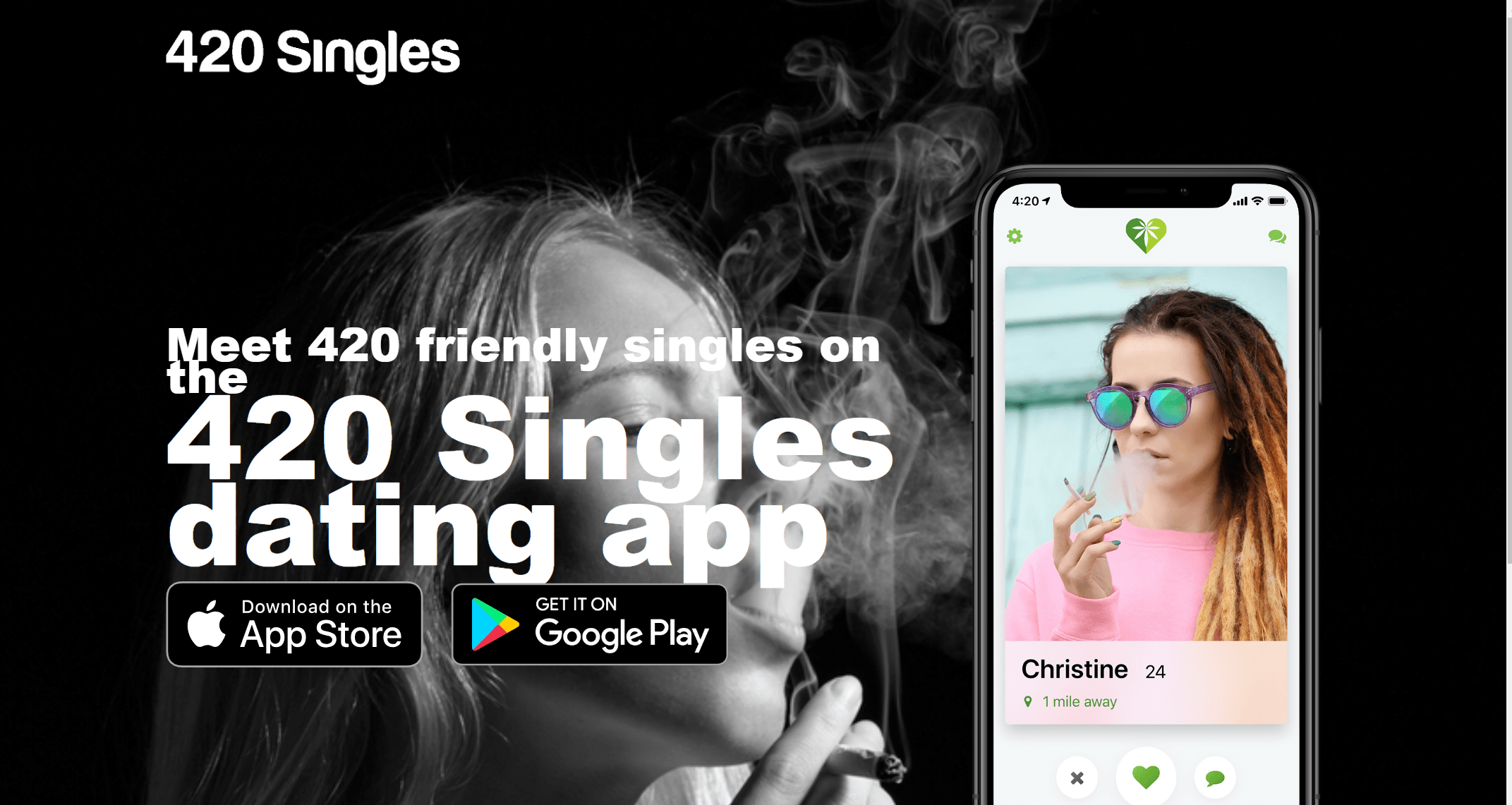 420 Singles - A Best Of 420 Dating Site