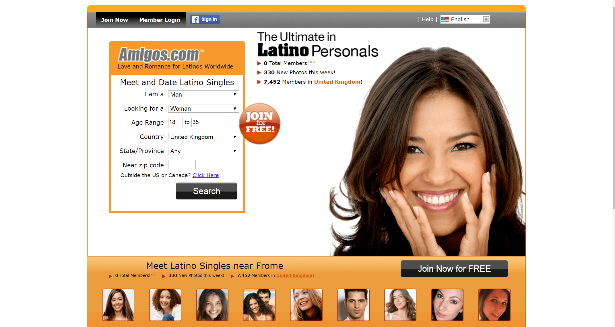 Amigos Review - Real Dating Site Reviews