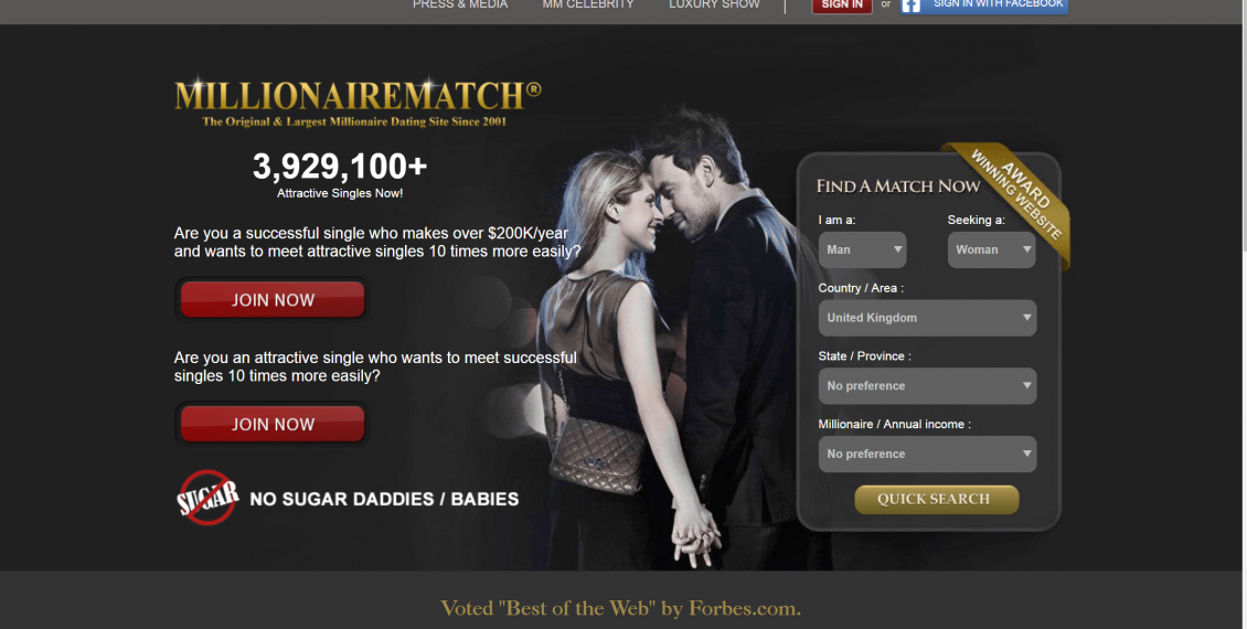 Millionaire Match Review - Real Dating Site Reviews