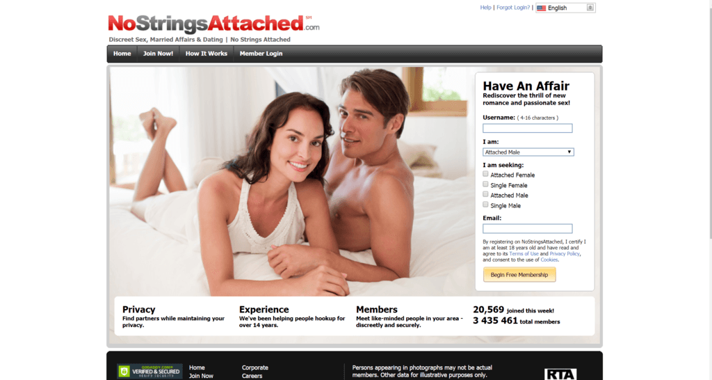 Top 3 Adult Dating Sites