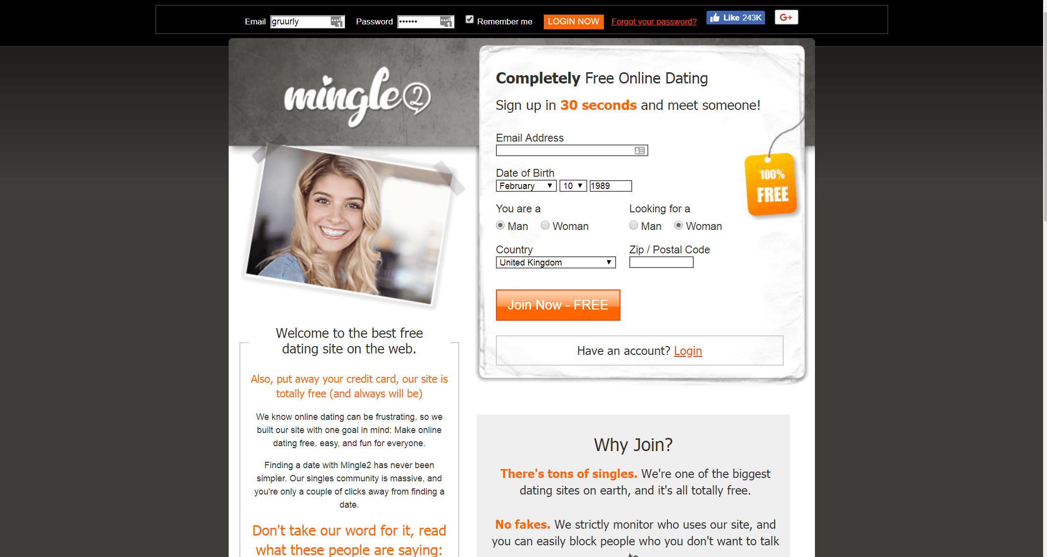 mingle2 review - best free dating sites