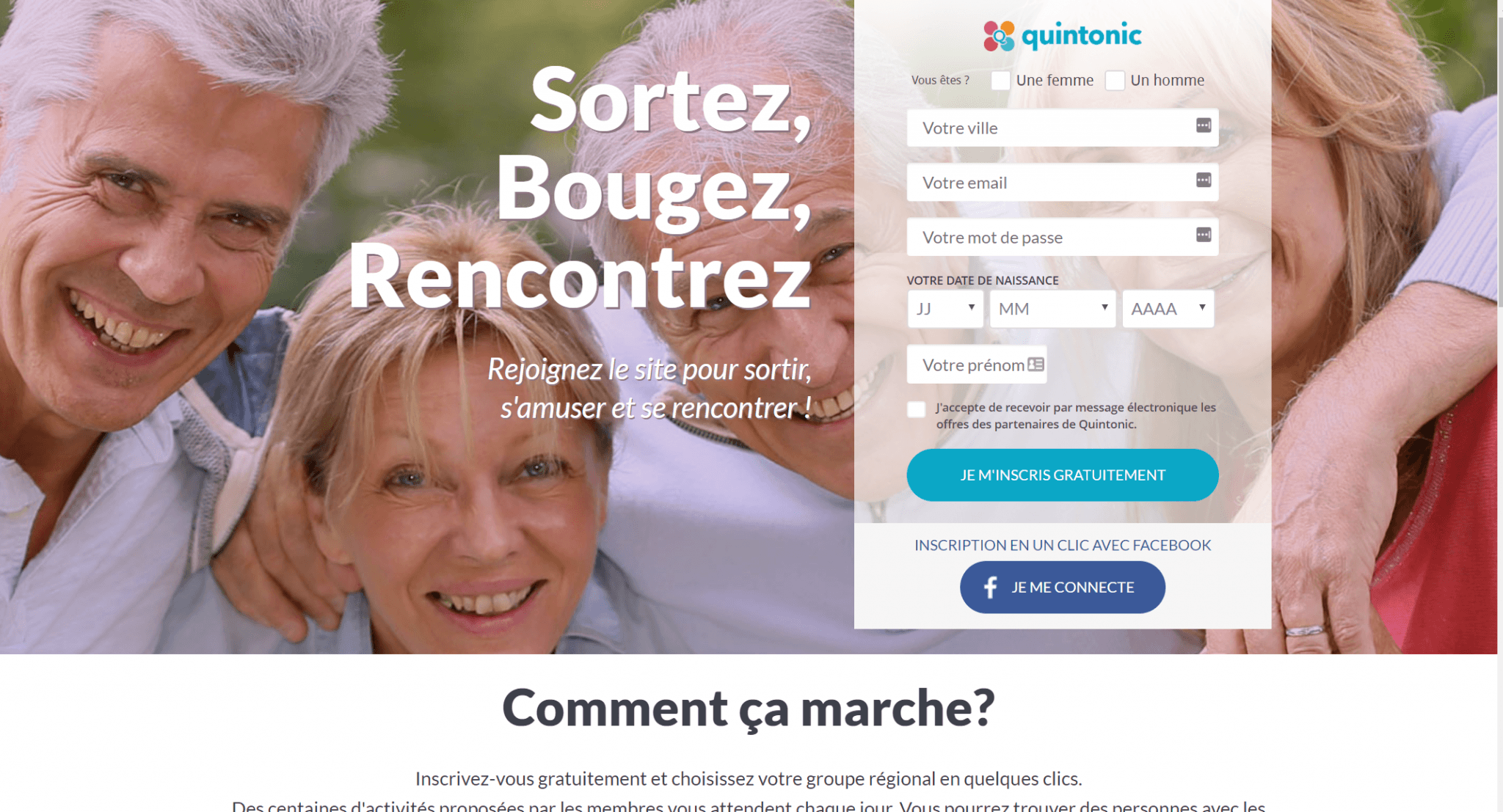 French dating site
